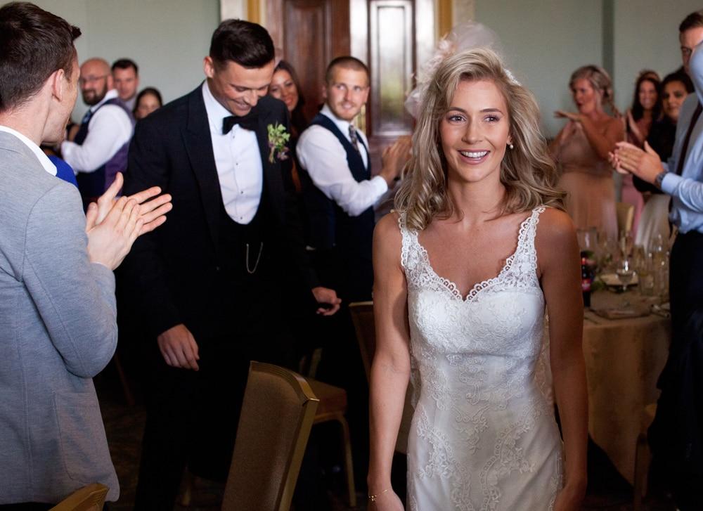 wynyard hall wedding bride and groom
