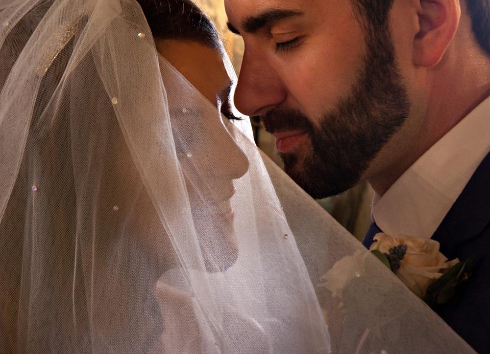 wynyard hall wedding couple